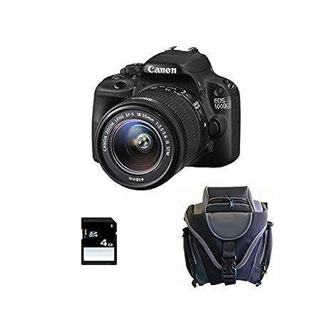 CANON EOS 100D + 18-55 IS STM GARANTI 3 ans + Sac + SD 4Go