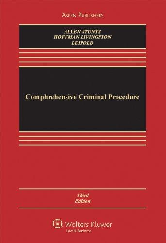 Comprehensive Criminal Procedure, 3rd Edition (Aspen...