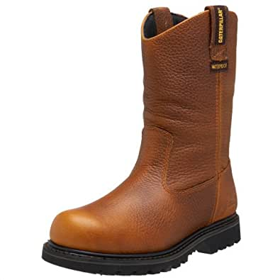 Amazon.com: Caterpillar Men's Edgework Pull-On Waterproof Boot: Shoes