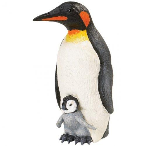 Safari Ltd  Incredible Creatures Emperor Penguin with Baby