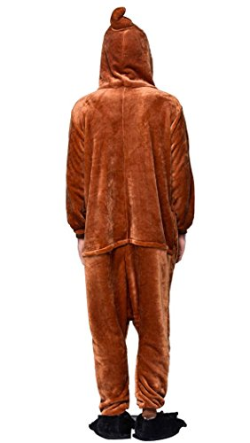 MrSeven-Adult-Fleece-Funny-Poop-Emoji-Halloween-Onesies-Pajamas-Costume