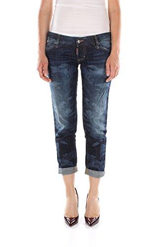 Jeans Dsquared2 Donna Cotone Blu Denim S75LA0494S30281470 Blu 44