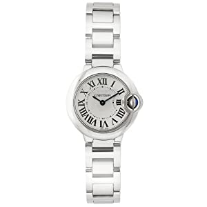 "Cartier Women's W69010Z4 ""Ballon Bleu"" Stainless Steel Dress Watch"