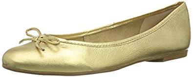 Buffalo London ZS 2590 VEGETAL PARAFINE, Damen Geschlossene Ballerinas, Gold (OURO 11), 36 EU