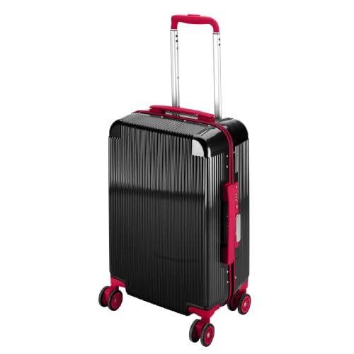 キャプテンスタッグ(CAPTAIN STAG) シック トラベルスーツケース TSAロック付きコンパクトタイプ ブラック UV-49