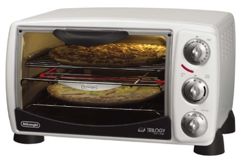 Delonghi XU1837W Trilogy Toaster Oven And Broiler, White