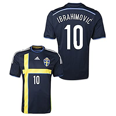 2014-15 Sweden Away Shirt (Ibrahimovic 10)