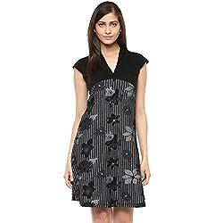 Raindrops Women's Dress(1203A006D-Grey-L)