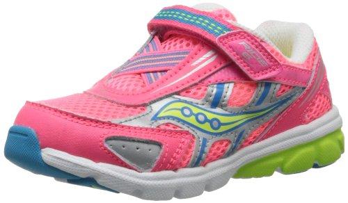 037c77d76f Saucony Girls Baby Ride 6 Running Shoe Toddler Little Kid Viza Coral ...