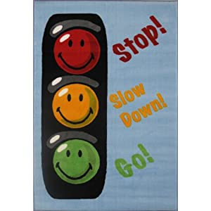 Fun Rugs SW-16 1929 Smiley World Traffic Signal