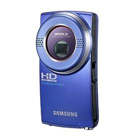 Samsung HMX-U20 Ultra-Compact Full-HD Camcorder (Blue)