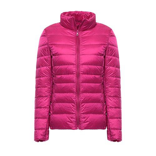 WJP donne ultra leggero rivestimento Packable gi? Outwear tampone piumino W-1995