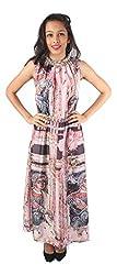 Tenn Women's Maxi Dress (LIGD11NSXS_X-Small_Multi)