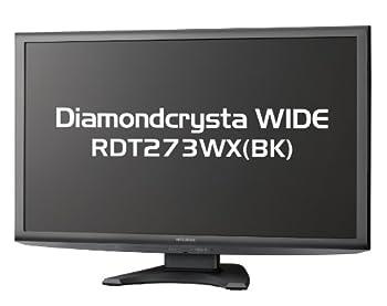 MITSUBISHI 27型液晶ディスプレイ IPS方式/ノングレア/フルHD RDT273WX(BK)