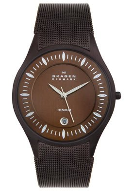 Skagen Men's Titanium Watch 342XLTMD