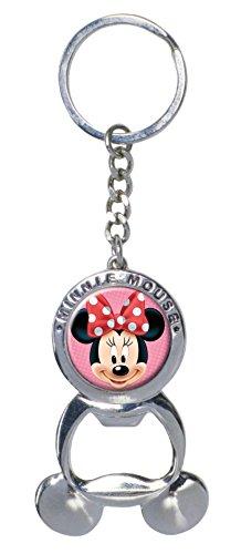Disney Minnie Pewter Bottle Opener Key Ring (Bottle Opener Keychain Disney compare prices)