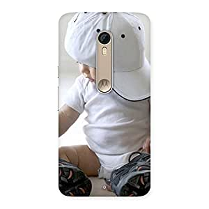 Enticing Hip Hop Cute Boy Back Case Cover for Motorola Moto X Style