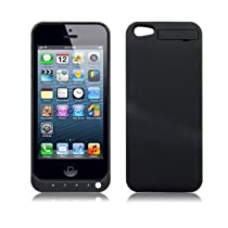 IPhone 5 Discount Review  LIYING New Power Bank for Apple iPhone 5 (All Models 2012) External Extended High Capacity (2200 mAh) Portable Spare Battery Power Pack Emergency Charging Charger Case / Cover - Black
