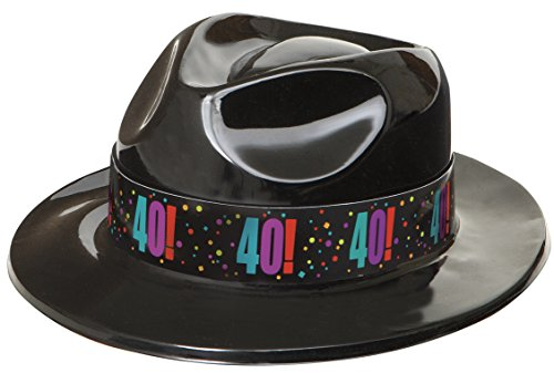 40th Birthday Cheer Ska Gangster Fedora Hat