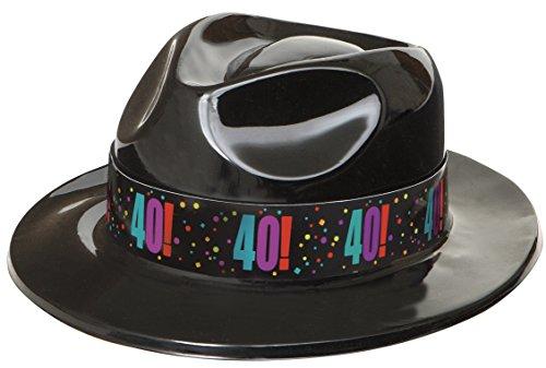 40th Birthday Cheer Ska Gangster Fedora Hat
