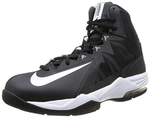 Nike Men's Air Max Stutter Step 2 Black/White/Stealth/Anthracite Basketball Shoe 10.5 Men US