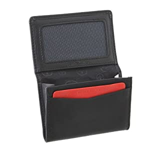 Wenger Credit Card Wallet with 1 large pocket, ID window and 2 slip in pockets.