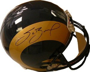 Sam Bradford signed St. Louis Rams Full Size Replica Helmet- JSA Hologram by Athlon Sports Collectibles