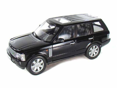 2003-land-rover-range-rover-1-18-black-by-collectable-diecast