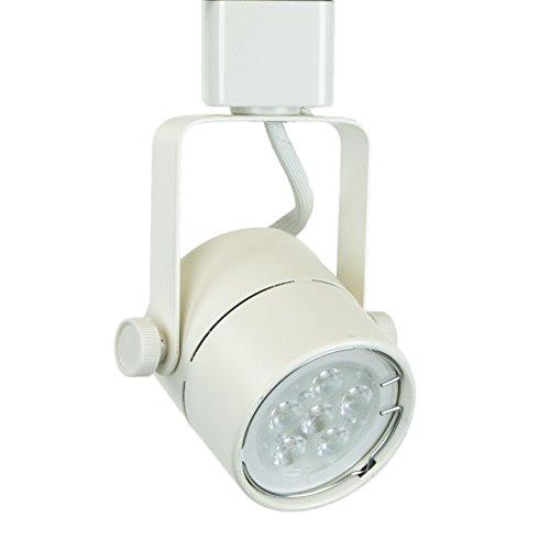 direct lighting 50154l white gu10 led track lighting head. Black Bedroom Furniture Sets. Home Design Ideas