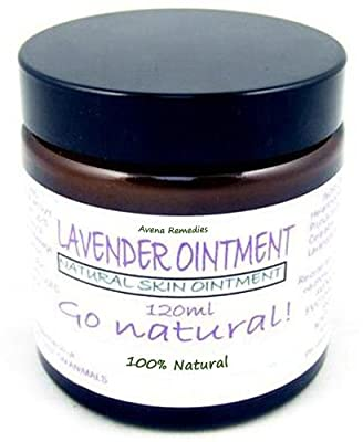 Natural Lavender Ointment 60ml: skin moisturiser, dry, itching, aid restful sleep, Ideal for sensitive skin & children