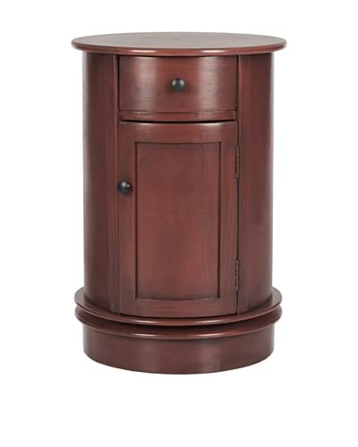 Safavieh Tabitha Oval Cabinet, Red