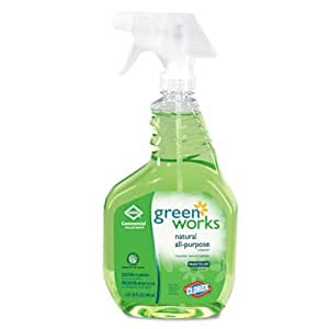 Clorox Green Works 00456 Commercial Solutions All Purpose Cleaner Spray, 32-Ounce