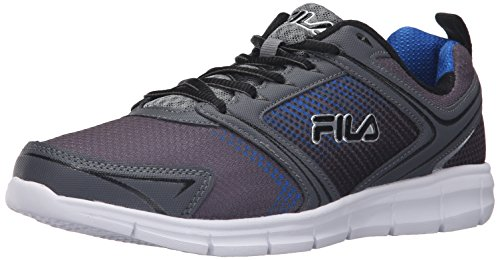 Fila Men's Windstar 2 Running Shoe, Castlerock/Monument/Prince Blue, 10 M US