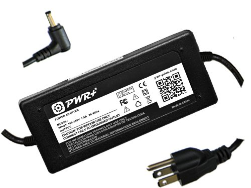 Pwr+ Ac Adapter for Asus Eee Pc 1001px 1001pxb