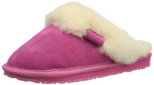 EMU AUSTRALIA Womens Jolie Slippers W10015 Hot Pink 35/36 EU (3 UK)