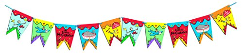 Paper Magic Eureka Dr. Seuss If I Ran The Circus Pennant Banner