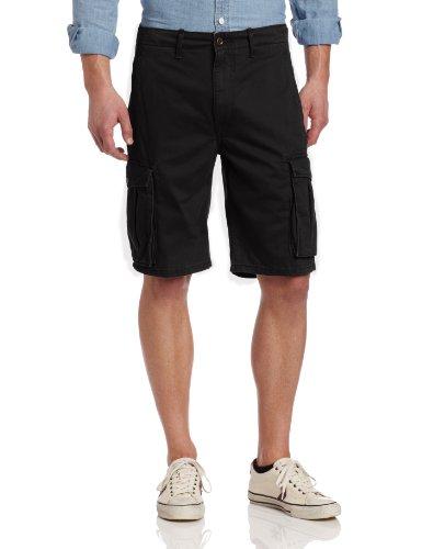 Levis Shorts Ace Cargo Shorts Cotton Twill Black~Camo~Red~Bl