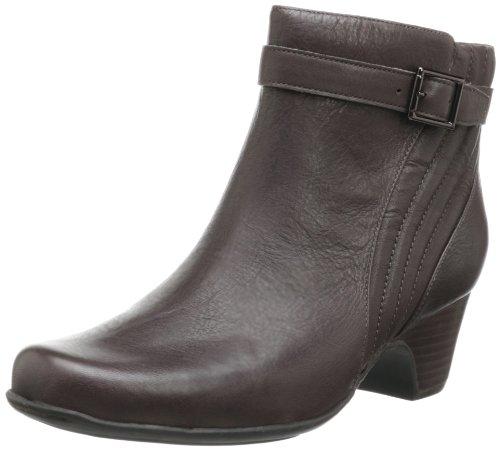 Clarks 其乐 Leyden Scale Bootie 女款真皮短靴 $51.08+$7.7直邮中国(约¥440)