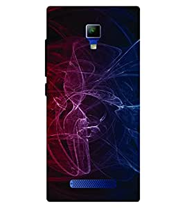 Voodoo Printed Back Cover For Panasonic Eluga Icon
