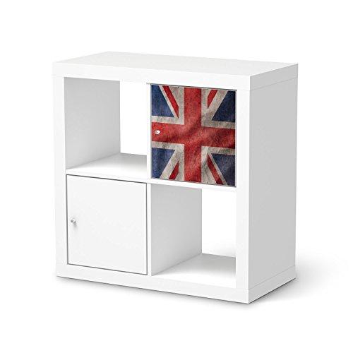 Dekofolie-fr-IKEA-Expedit-Regal-Tr-einzeln-Mbeldekor-Klebefolie-Sticker-Tapete-Mbel-folieren-Modernes-Wohnen-Schlafzimmer-Dekoration-Innendekoration-Design-Motiv-Union-Jack
