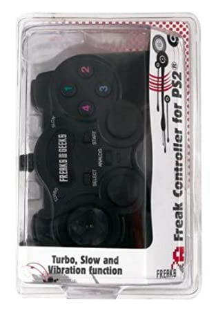 Freaks and Geeks - Mando para PS2, color negro