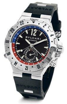 Bvlgari Diagono Professional Men's Watch GMT40SVD