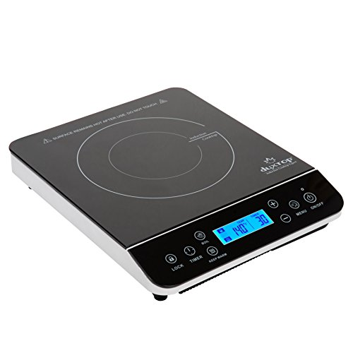 Duxtop LCD 1800-Watt Portable Induction Cooktop Countertop Burner 9600LS (Range With Induction Cooktop compare prices)
