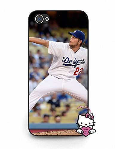 Iphone 5 5S Case, Dustproof Iphone 5S Case [Clayton Kershaw] Slim Fit Clear Back Case Cover for Iphone 5S - for Boys (Iphone 5 Clayton Kershaw Case compare prices)