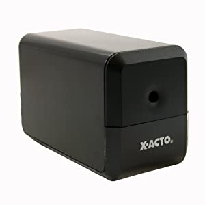 X-Acto XLR 1818 Electric Pencil Sharpener, Black
