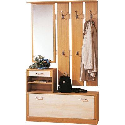 preisvergleich eu spiegel schuhschrank buche. Black Bedroom Furniture Sets. Home Design Ideas