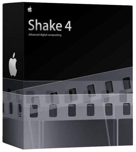 Apple Shake 4 Mac OS X Upgrade [OLD VERSION]