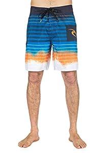 "Rip Curl Shipwrecks 19"" Boardshort Homme Orange FR : L (Taille Fabricant : 34)"