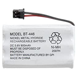 BP-446 BT-446 BT-1005 Cordless Phone Battery 800MAH For Uniden (Lifetime Warranty Bulk Packaging)