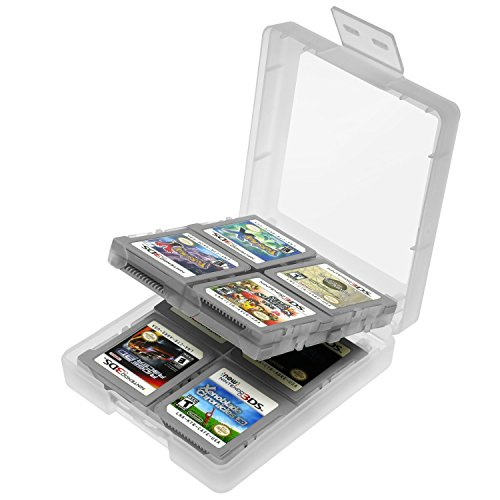 Insten White Game Card Case For Nintendo 3DS/ DS/ DS Lite/ DSi/ DSi XL/ DSi LL/ Nintendo New 3DS (Gameboy Advanced Games Used compare prices)